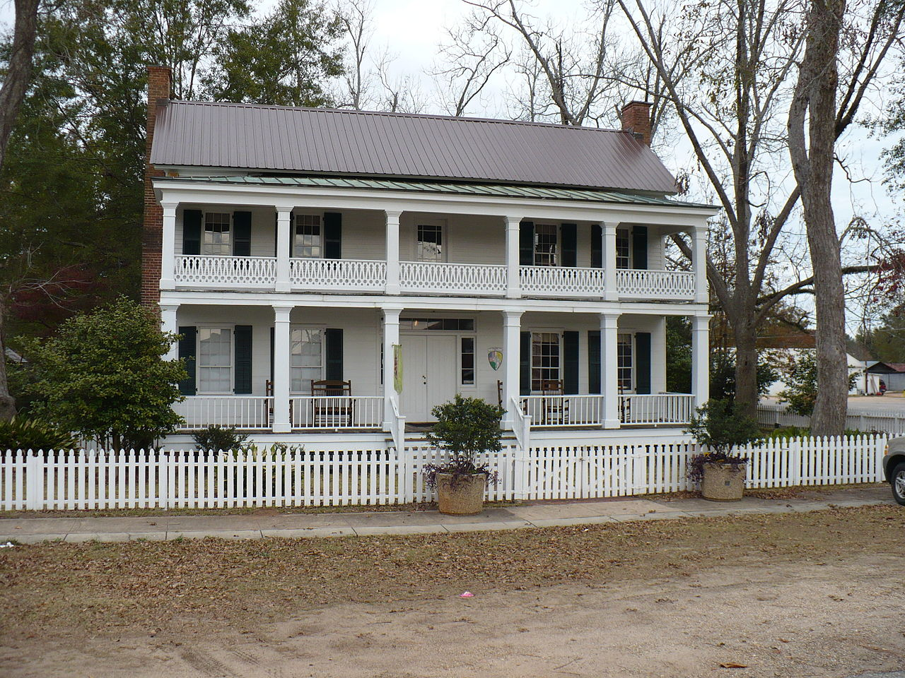 Alston-Cobb House in Grove Hill, Clarke County, Alabama