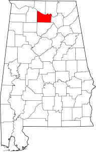 Morgan County Alabama Map
