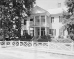 The James Dellet House is the only original residence remaining in Claiborne