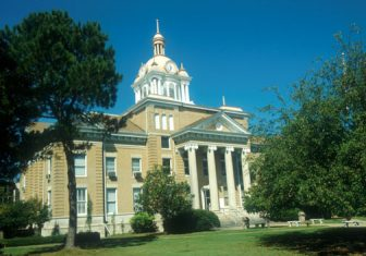 Fayette County Alabama Courthouse