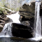 Cheaha Falls is located along the Chinnabee Silent Trail on Cheaha Creek, in the Talladega National Forest.