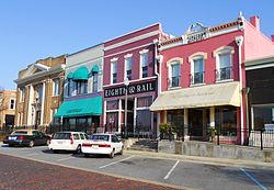 Opelika Alabama | Railroad Avenue Historic District
