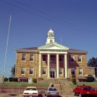 Winston County Alabama Courthouse in Double Springs Alabama