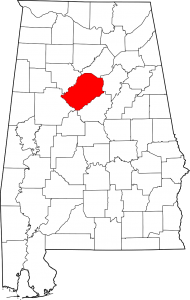 Jefferson County Alabama Map