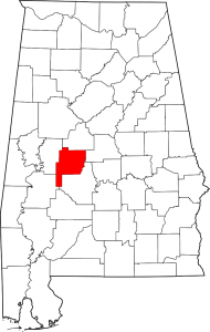 Perry County Alabama Map