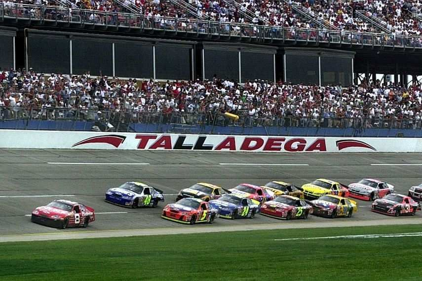 Talladega Speedway in Lincoln Alabama