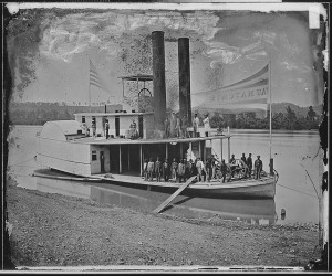 "Transport Steamer ""wauhatchee"" built in Bridgeport Alabama"