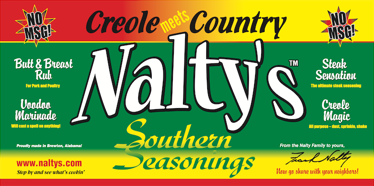 Nalty's Southern Seasonings Made In Alabama