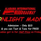 Alabama International Dragway in Steele Alabama