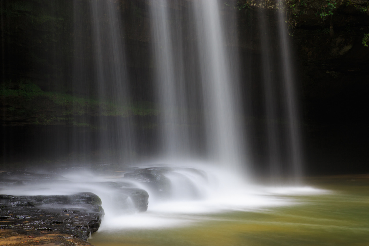 Caney Creek Falls in Bankhead National Forest