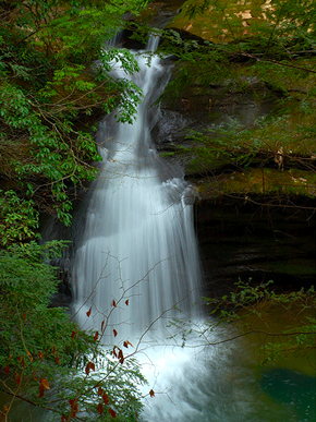 Caney Creek Falls | Photo by Wesley Thomas