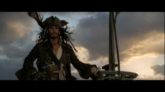 Captain Jack Sparrow of the Black Pearl
