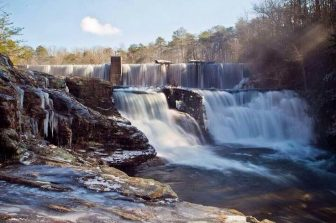 Desoto Falls in Mentone Alabama