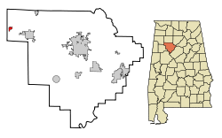 Eldridge Alabama | Location in Walker County & the state of Alabama