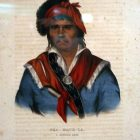 Neamathla, who has been one of the most distinguished of the Seminoles, and was at one time their head man, or principal chief, was by birth a Creek.