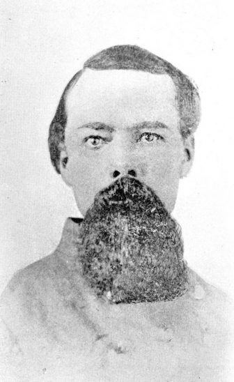 Confederate Major Albert J. Russell