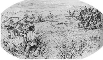 On July 27, 1813 the battle that started the Creek War occurred at a bend on Burnt Corn Creek, located in present day Escambia County, Alabama.
