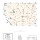 Coosa County Alabama Map