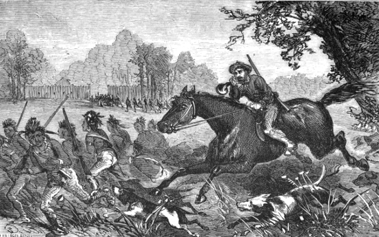 The Dog Charge At Fort Sinquifield