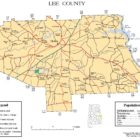 Lee County Alabama Map