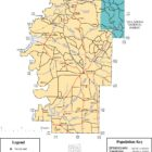 Hale County Alabama Map