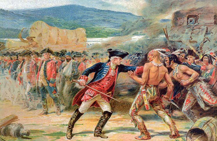 The French and Indian war was a nine-year battle between France and England. The war sparked when both Britain and France claimed territories in the New World. This territory was the area between the Appalachians and the Mississippi River. At the time, the Native Americans inhabited the land. The Indians eventually allied with France. Because this war is known in the United States as the French and Indian war, many assume the title refers to an on-going battle between the French and Indians. Quite the contrary, the war's title refers to the alliance between the two groups.