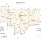 Bullock County Alabama Map