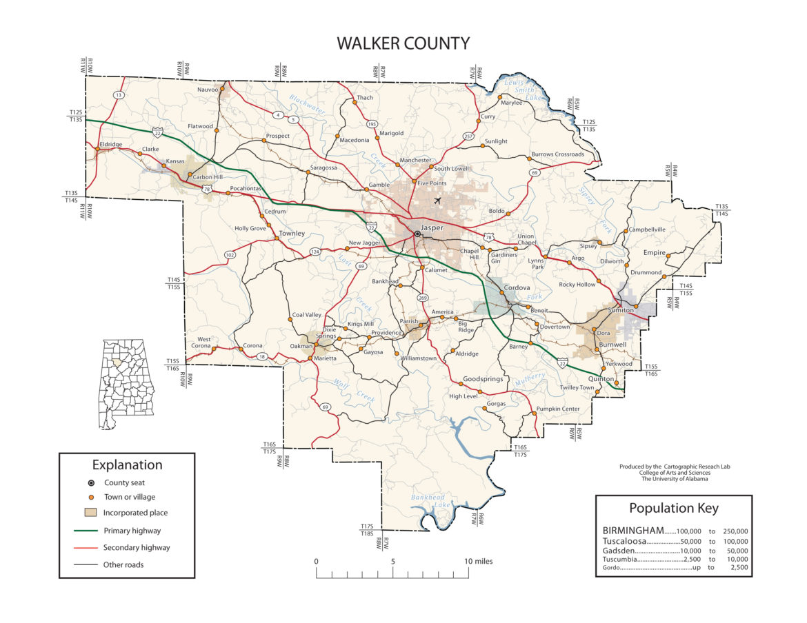 Digital Alabama Guide to Walker County Alabama