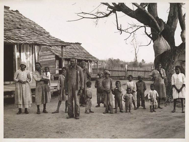African American Family at Gee's Bend Alabama 1937