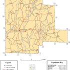 Fayette County Alabama Map