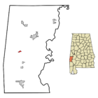 Needham Alabama in Choctaw_County_Alabama