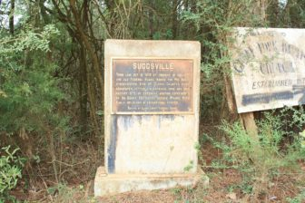 Suggsville Alabama Historic Marker