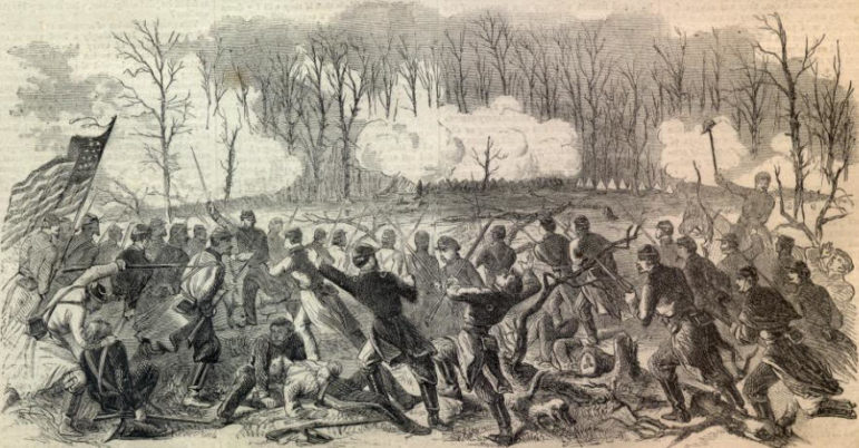 Desperate Fight at Fort Donelson