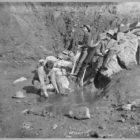 Men Panning Gold Created / Published [between ca. 1900 and 1927]