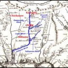 The original Creek Confederacy was in the Alabama-Coosa River Basin
