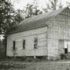 Front (west) and north side of Bethel Methodist Church on Old Line Road, northeast of Whatley, Alabama