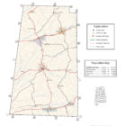 Lamar County Alabama Map