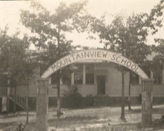 Mountainview School, located 2.5 miles east of Bryant, Alabama, on Sand Mountain in Jackson County