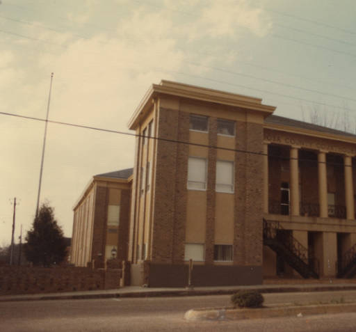 Coosa County courthouse in Rockford, Alabama