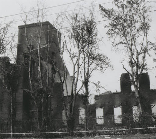 Ruins of Pratt Mill in Prattville Alabama