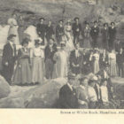 Scene at White Rock, Hamilton, Ala. Circa 1900-1909