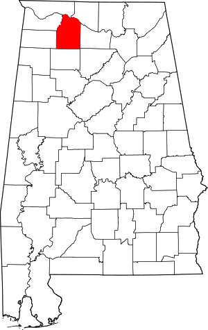 Where is Lawrence County Alabama