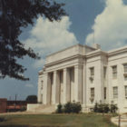 Lawrence County courthouse in Moulton, Alabama.