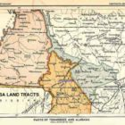 Chicasa Land tracts in Parts of Tennessee and Alabama