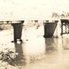 Bridge over Murder Creek near Brewton, Alabama. 1930s - 1941 circa. Alabama Writers' Project photograph collection.